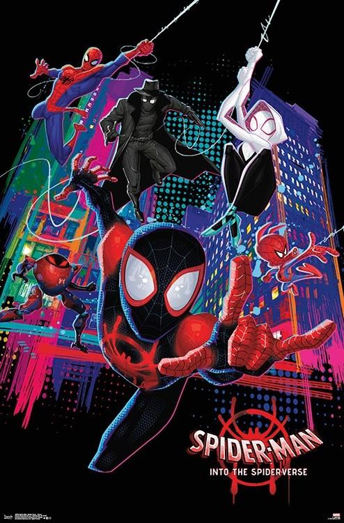 16898_spider-man-_spider-verse_-_group_-_4x6