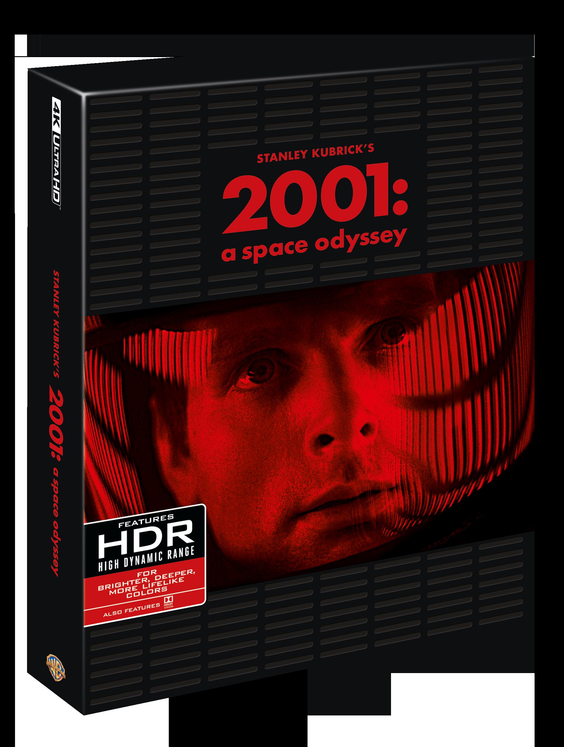 2001 odissea nello spazio 4K 3d