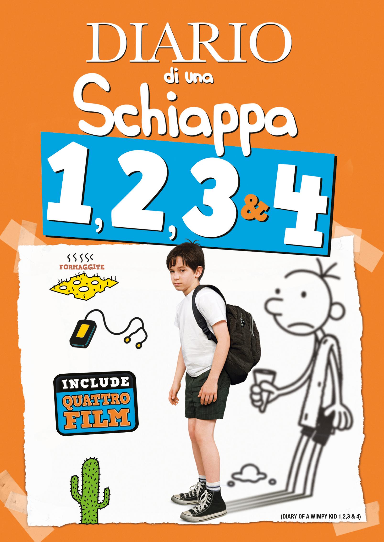 Diario di una Schiappa 1-4_Feltrinelli Ret excl_DVD_2D