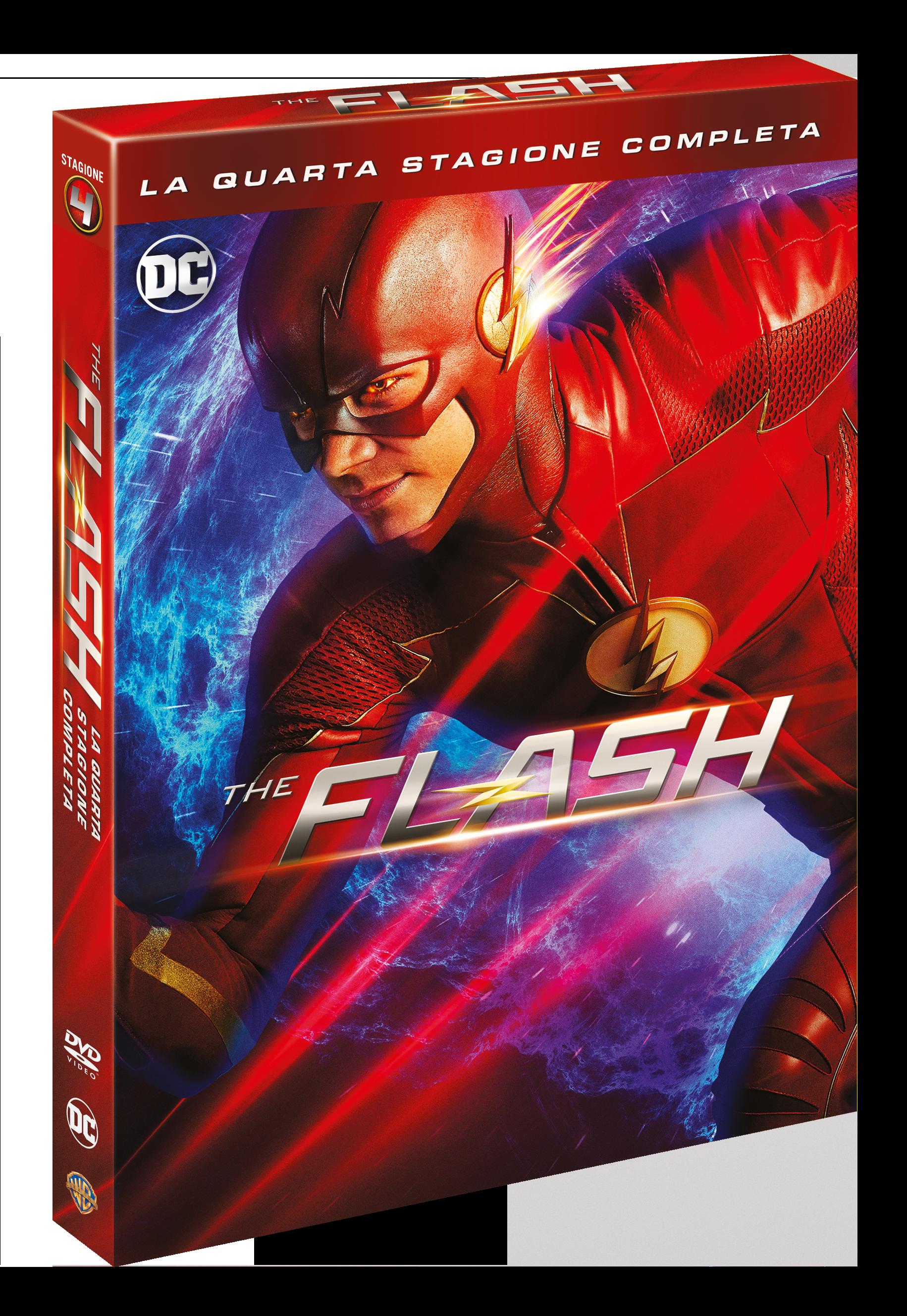 The Flash S4_DVD_3d